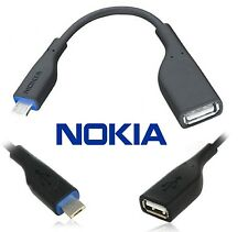 GENUINE NOKIA USB OTG CA-157 CABLE ADAPTER FOR N8 C6-01 C7-00, E7, X3