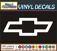 "12"" Chevrolet Chevy Bowtie auto Car Truck window wall vinyl sticker decal"