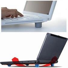 4x Goma Enfriador Reposa Pies Alfombrillas Pata Laptop Notebook Computadora