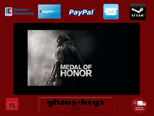 Medal of Honor Steam Key Pc Game Code Download Neu Blitzversand