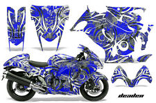 Graphic Kit Suzuki GSXR Amr Racing 1300 Hayabusa GSX Part Bike Decal Wrap DEADEN