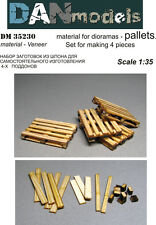1/35th scale wooden pallets, Dan Models, Tamiya Meng dioramas