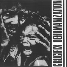 CRUCIFIX - DEHUMANIZATION LP (1983) CORPUS CHRISTI / REPRESS / US PROTEST-PUNK