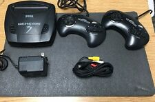 ** Sega Genesis CONSOLE System Model 3 Tested Working, 2 Controllers + 2 Games F
