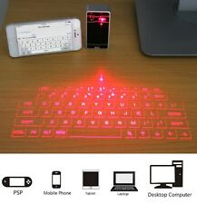 Portable Laser Projector Virtual Keyboard Mouse Bluetooth Speaker Android Gift
