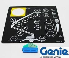 NEW Genie TMZ Touch Pad / Overlay Decal - (Genie #: 76093, 76093GT)