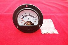 1pc AC 0-5A Round Analog Ammeter Panel AMP Current Meter Dia. 66.4mm DH52