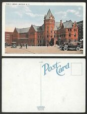Old Postcard - Buffalo, New York - Public Library