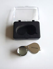 Chrome Jewlers Loupe 21mm 30x Power Magnification