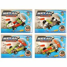 Boys Car Diy Metal Kit Xmas Kids Stocking Party Bag Fillers