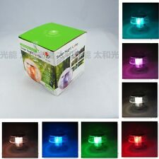 Solar 7 Color Changing LED Floating Lights Ball Pond Pool Outdoor Path Landscape