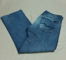 Mens 7 For All Mankind Bootcut Jeans  Mens 32x32 Distressed Seven USA