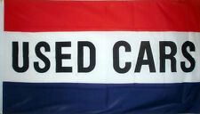 5' x 3' Used Cars Flag Second Hand Car For Sale Auto Motor Sales Garage Banner