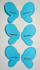NEW UTILITY KITCHEN FOOD BAG CLIPS RESEAL KEEP FRESH SET 6 BLUE BUTTERFLY sil