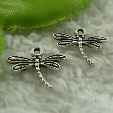 free ship 480 pieces tibet silver dragonfly charms 18x15mm #3903