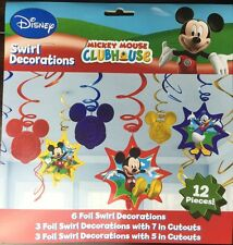 Disney Mickey Mouse Clubhouse Party Value Pack Foil Swirl Decoration Kit