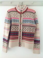 Stunning NEXT ladies cardigan,chunky wool knit, vintage style boxy cropped, BNWT