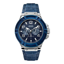 AUTHENTIC GUESS MEN'S RIGOR WATCH W0040G7 Brand New RRP: $349