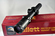 Millett Tactical 30mm DMS 1-4 X 24 Rifle Scope Circle Dot BK81002 Rings included
