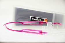 Switch it combi 279 Wechselbrille randlos Kunststoff Brille Damen pink Neu