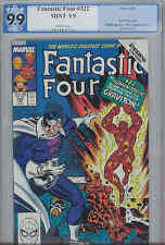 Fantastic Four 322  PGX 9.9 MINT : 1989 Marvel Comic with Human Torch Cover