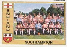 N°063 SOUTHAMPTON TEAM EURO FOOTBALL 76 STICKER PANINI VIGNETTE ENGLAND
