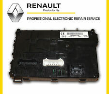Renault Clio UCH (BCM) Body Control Module Repair Service - Lifetime Warranty