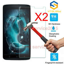 2Pcs 9H Premium Tempered Glass Screen Protector For Lenovo K4 Note A7010 X3 lite