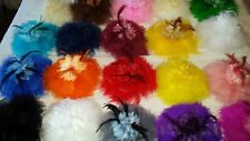 Joblot of 20 Feather & Sinamay Hair Fascinator clip NEW Wholesale lot 7