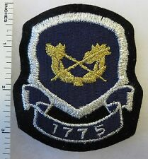 US ARMY FINANCE CORPS REGIMENTAL PATCH INSIGNIA