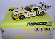 NINCO MERCEDES SLS GT3 LIGHTNING #2   BODY NINCO 1 KNAP MB