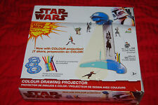 Star Wars - The Clone Wars Animated Series Colour Drawing Projector OOP IMC Toys