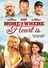 Home Is Where The Heart Is (DVD, 2014) Like New in Widescreen,A Family Felt Film