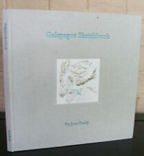 Galapagos Sketchbook. by Joan Brady - Signed, limited 1st edition