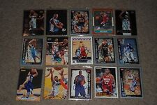 LOT OF (50) SIGNED AUTOGRAPHED NBA BASKETBALL CARDS, STARS+