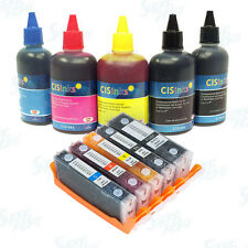 Refillable Ink Cartridge Kit for Canon PGI-270 CLI-271 XL PIXMA MG5722 MG6820