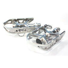 """MKS AR-2 Road Bike Bicycle Cycling Lightweight Alloy 9/16"""" Pedals - Silver"""
