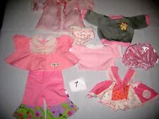 cabbage patch doll clothes lot