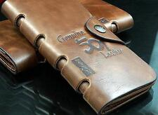 Leather Wallet Cowboy Men Pocket Card Real Leather Price down £25 to £15