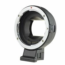 COMMLITE AF Auto-Focus Mount Adapter EF-NEX for Canon EF Lens to Sony NEX Mount