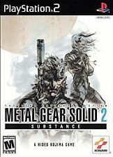Metal Gear Solid 2: Substance (Playstation 2) Complete ~ Tested ~ Guaranteed