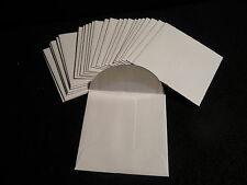 50 Kraft 24 lb. Paper Coin Envelopes ( 2.25 X 2.25 ) White Wove (#5)
