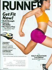 2013 Runner's World Magazine: Half-Marathon Calendar/Get Fit Now/Treadmill