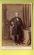 CDV - Dr George Shaw M.D. Leicester Dated 1862 - Burton & Compy. - Leicester