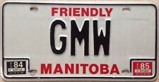 Manitoba vanity GMW license Plate Girl Meets World TV sitcom Disney