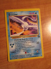 PL ARTICUNO Pokemon PROMO Card #22 Rare Black Star Set Legendary Ice Bird Movie