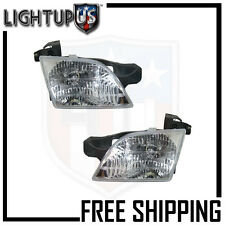 Headlights Headlamps Pair Left right set for Chevy Venture Montana Silhouette