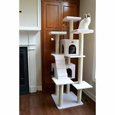 Armarkat Cat Tree Pet Furniture 77 in. Condo Scratcher