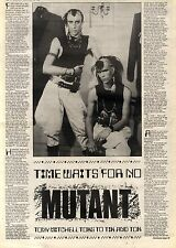 18/9/1982Pg14/53 Article & Picture, Tik And Tok