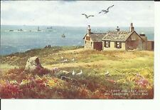 First & Last House & Longships Land's End  - Valentine & Sons Ltd.